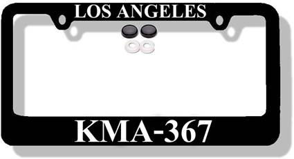 An organ donor saved my life license plate frame holder
